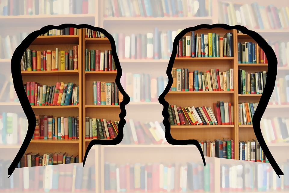 Book shelves image