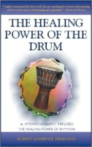 "Book cover for ""The Healing Power of the Drum"""