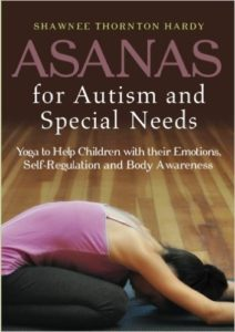 "Book cover for ""Asanas for Autism and Special Needs"""