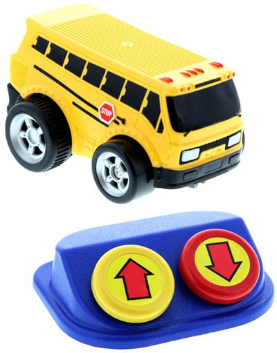 Adapted Toy School Bus