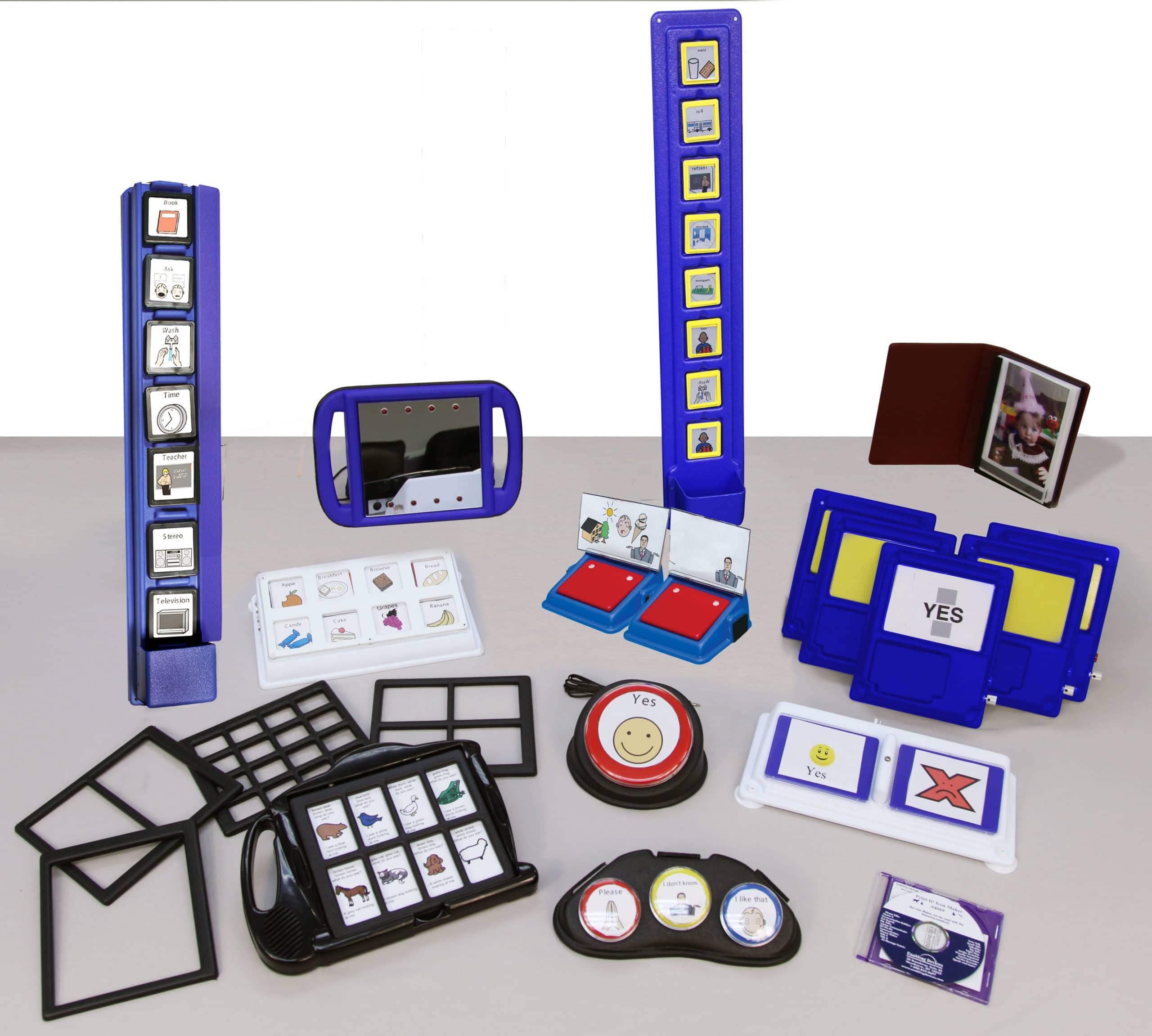 Classroom Comm Kit - Blue Put-em-arounds