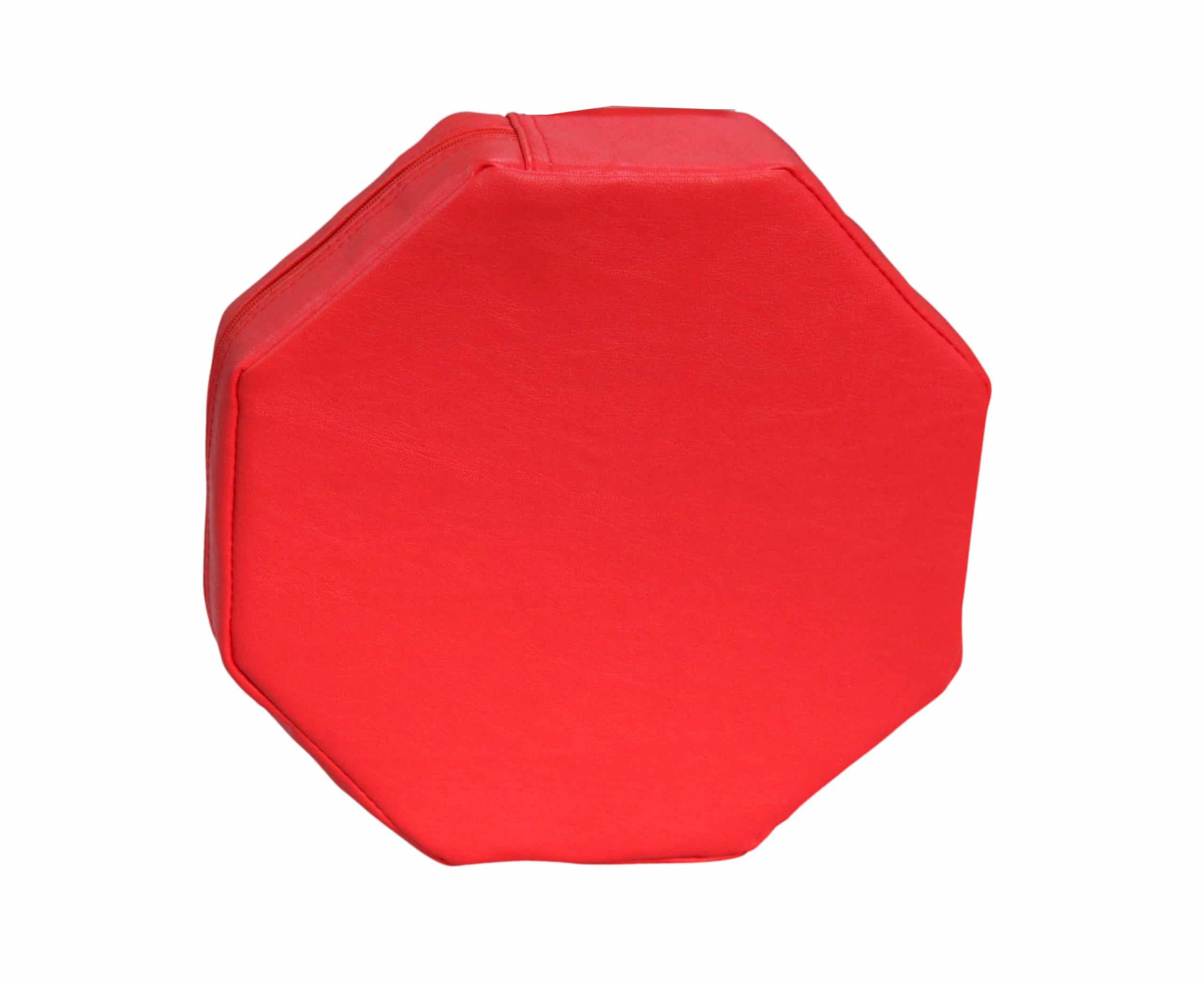 Red Octagon Vibrating Pillow