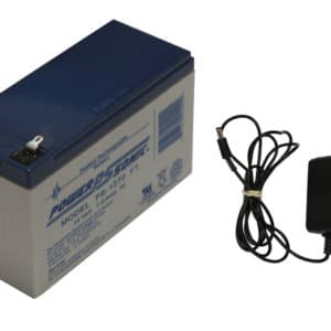 Replacement Battery & Charger for Scooter Boards