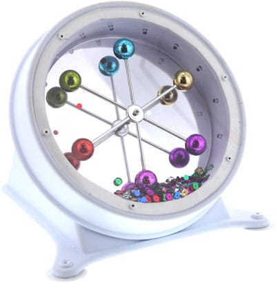 Spins around multisensory adapted toy