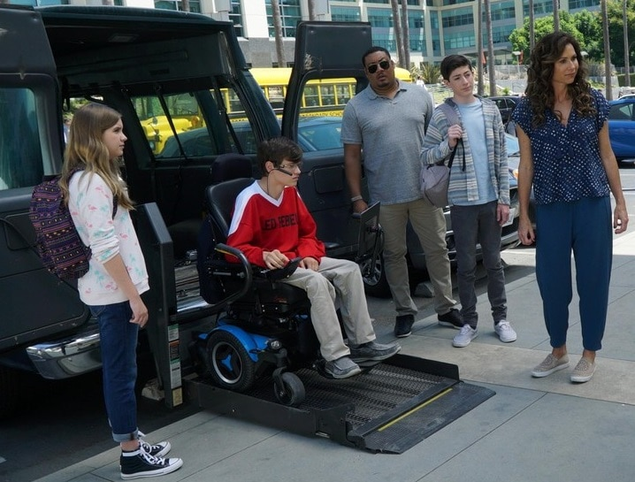 Cast of TV Show Speechless
