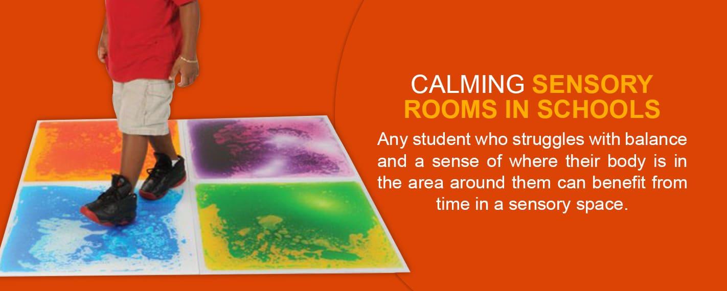Calming Sensory Rooms in Schools