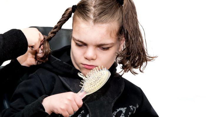 Disabled Girl Hair Style