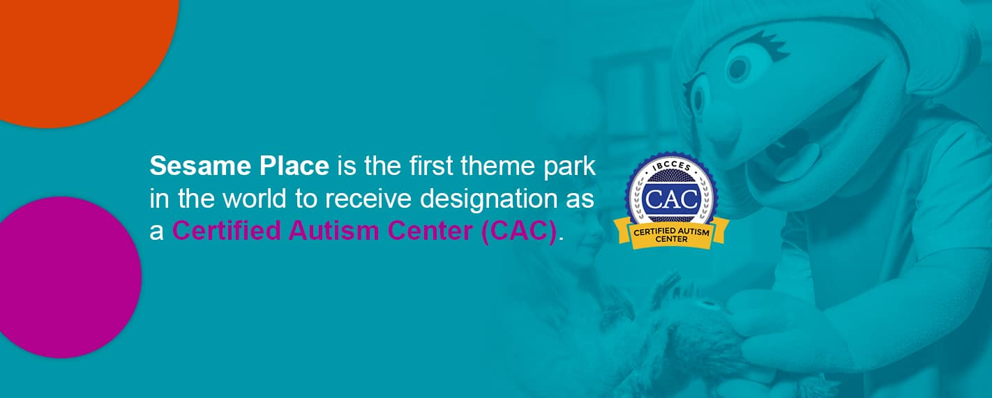 sesame place certified autism center