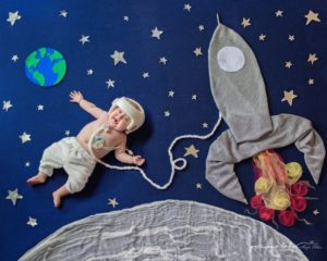 Special Needs Child in Whimsical Photograph