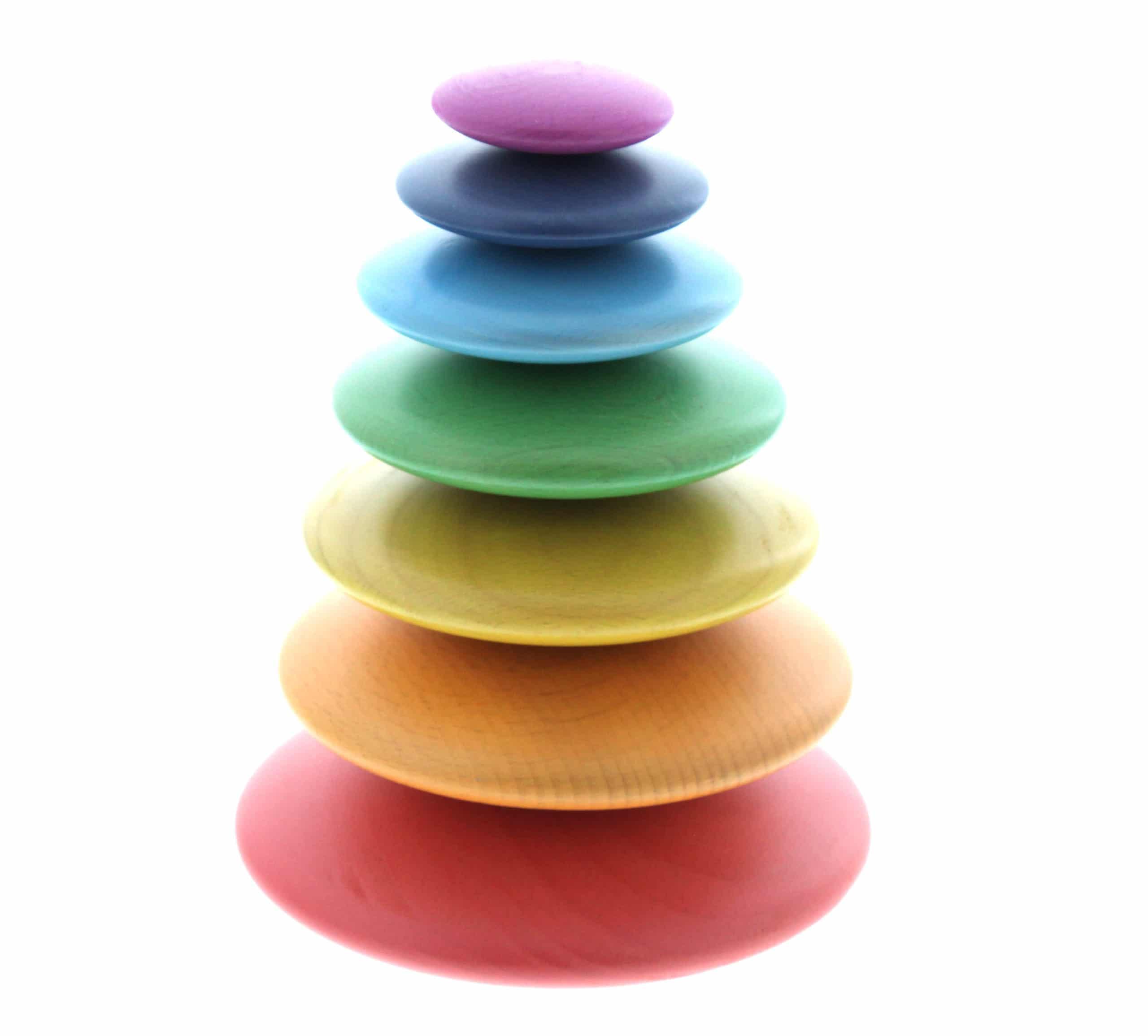 Rainbow Button Stacker