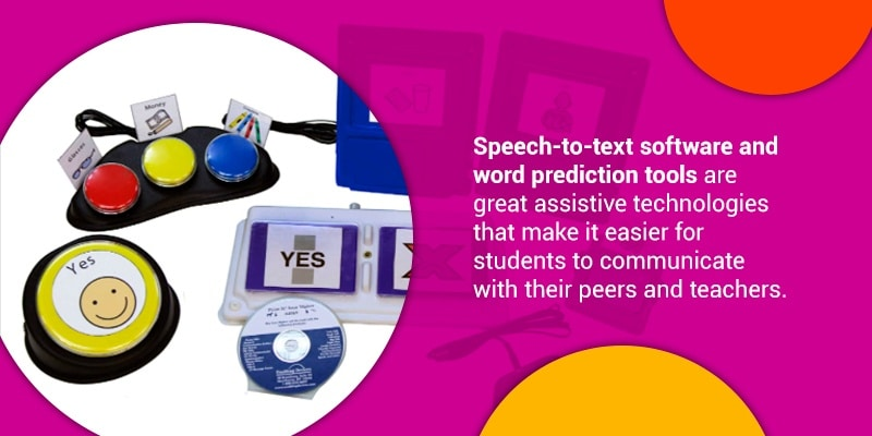 Students with speech disabilities