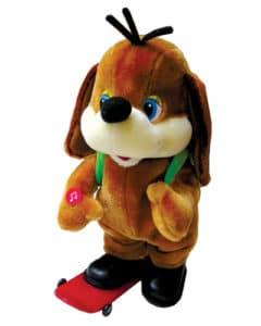Dog on Skate