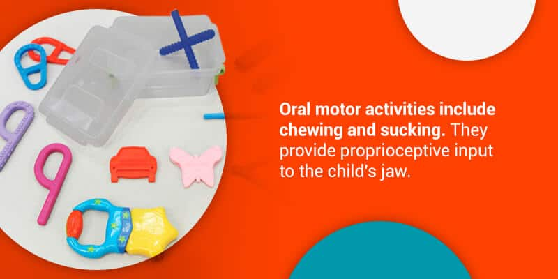 Oral motor chewing